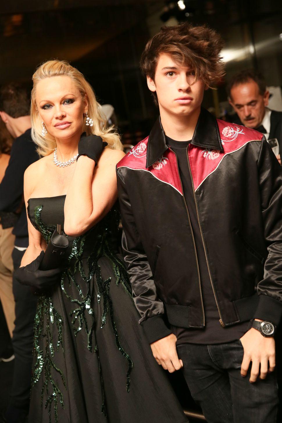 Pamela Anderson, Dylan Jagger Lee