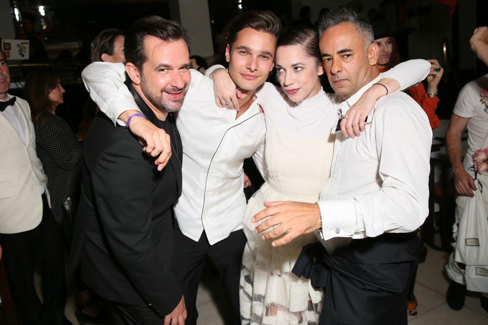 Stéphane Gerschel, Dorian Grinspan, Mariella Everett Francesco Costa