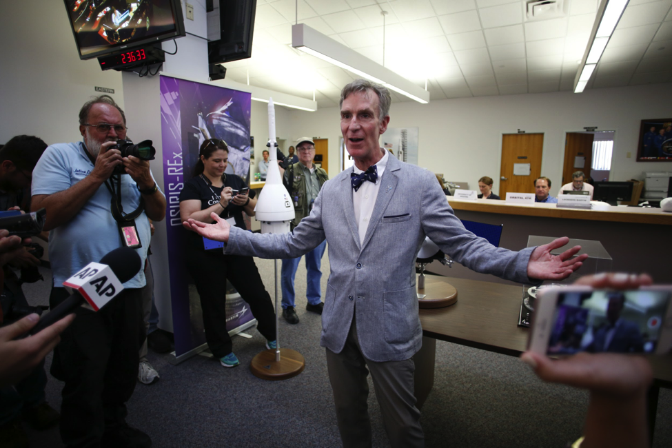 Bill Nye discusses exploring Europa at NASA's Kennedy Space Center