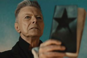 David Bowie in the Renck-directed 'Backstar' video.