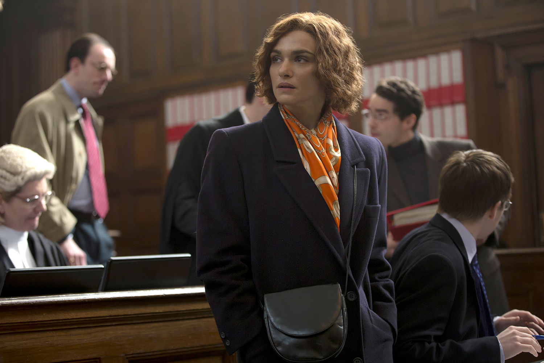 Rachel Weisz as Deborah E. Lipstadt in Denial.