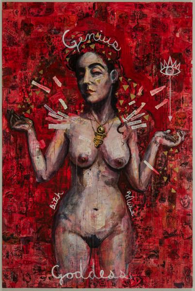 Molly Crabapple, Kim Boekbinder, 2016.