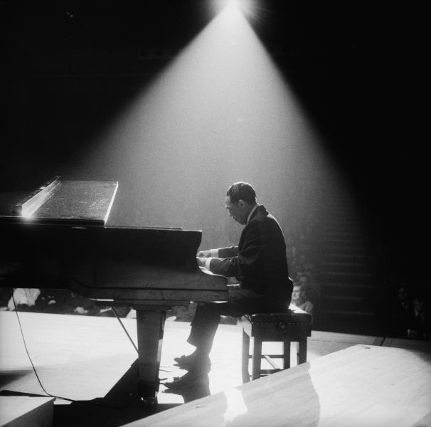American jazz band leader and composer, Duke Ellington.