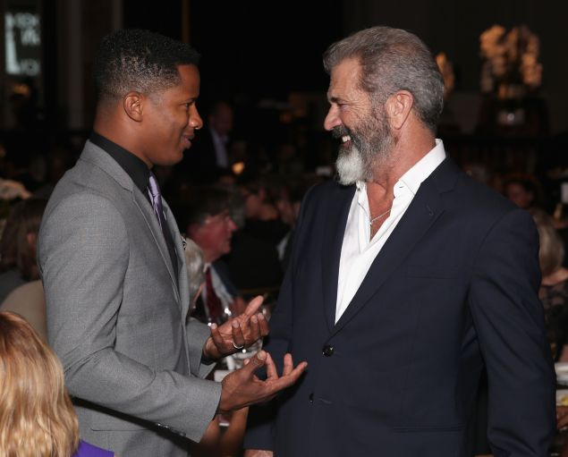 Nate Parker and Mel Gibson: