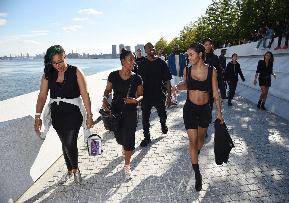 Kanye West, Teyana Taylor, Chanel Iman depart Yeezy Season 4