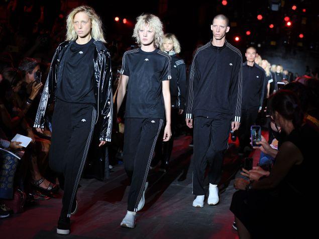 Alexander Wang's collab with Adidas