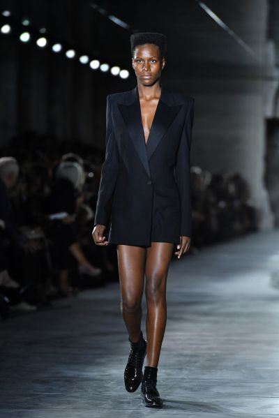 The Grace Jones moment at YSL.
