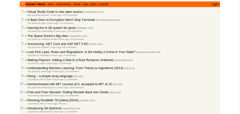 Hacker News built a content-consumption habit for Y Combinator.