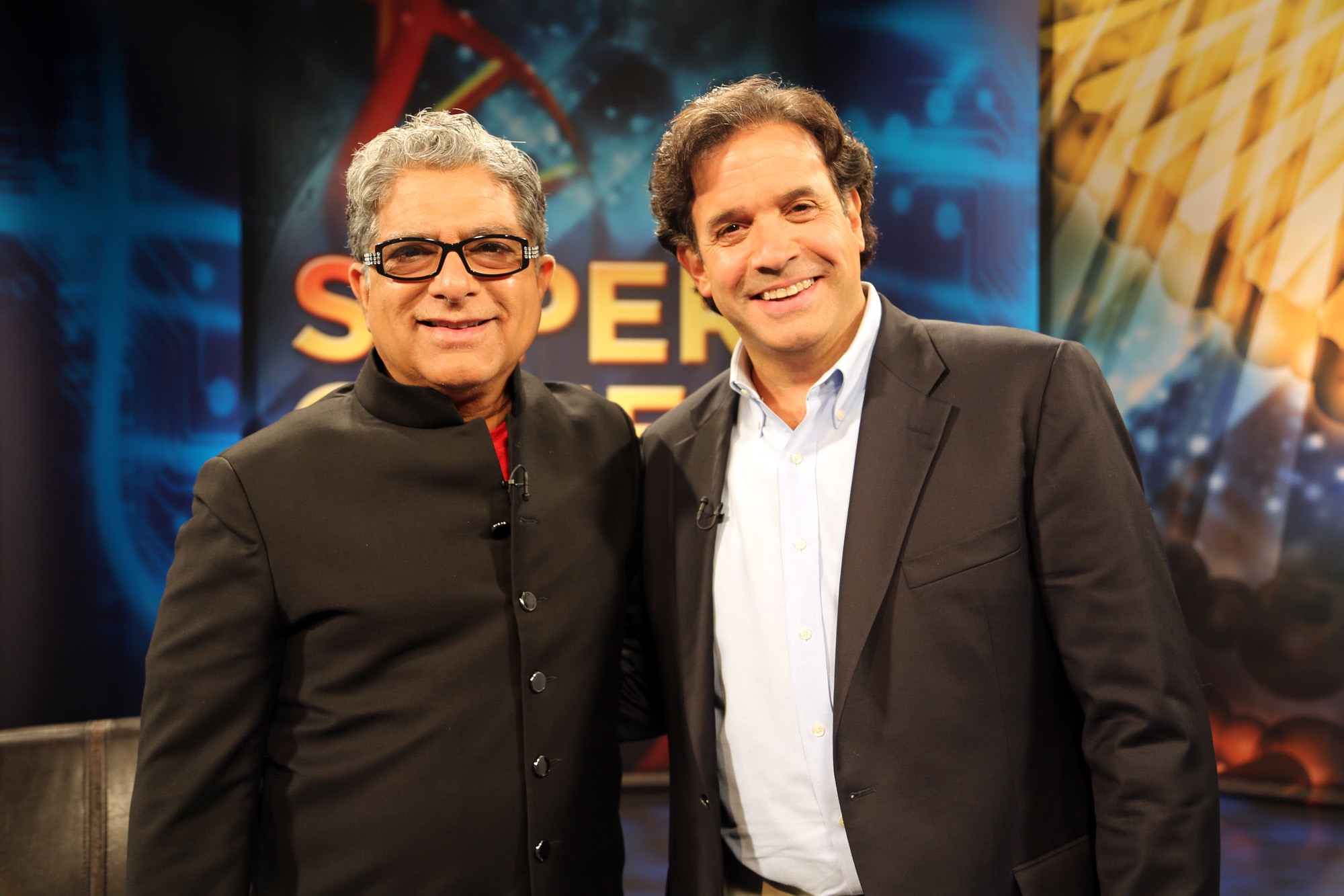 Dr. Randolph Tanzi with his co-author Deepak Chopra