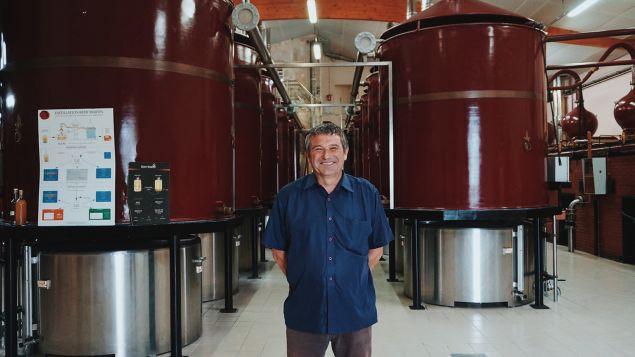 Master Distiller Jean-Marie Bernard
