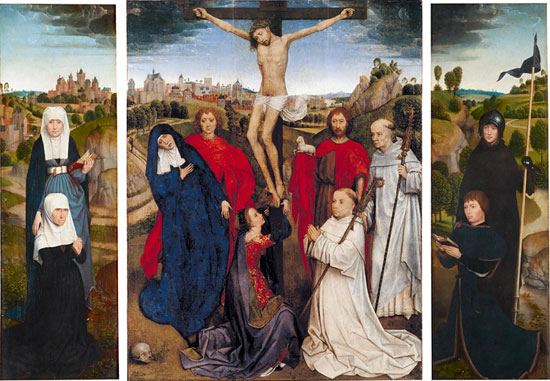 Hans Memling's Triptych of Jan Crabbe goes on view at the Morgan Library and Museum.
