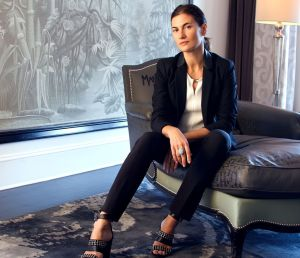 Natasha Schlesinger, founder of ArtMuse and The Surrey's Art Expert in Residence.