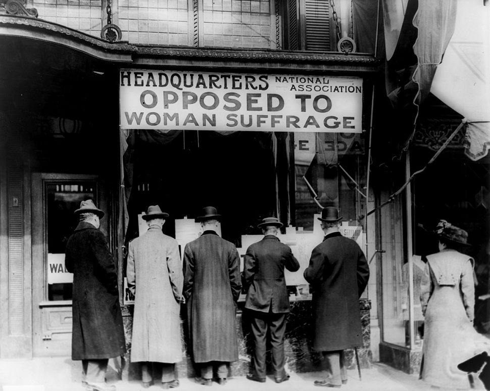 The anti-suffragette movement long delayed women from attaining the vote.