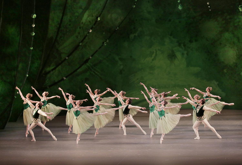 New York City Ballet performs Jewels.