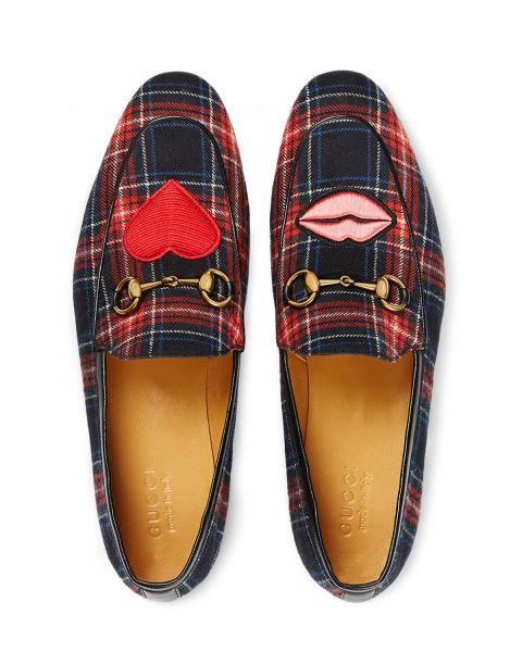 Gucci, Jordaan Tartan Formal Loafer, $760