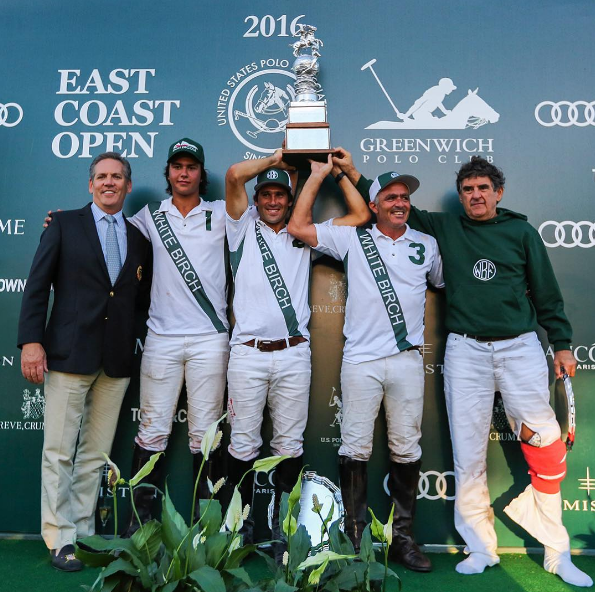 Peter Brant's White Birch wins the 2016 East Coast Open