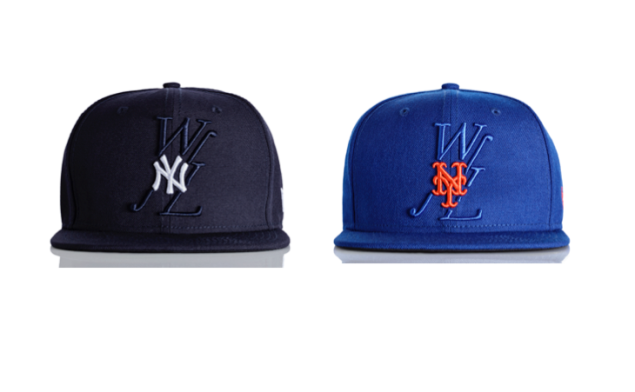 Two of the hats in the latest Public School collab.