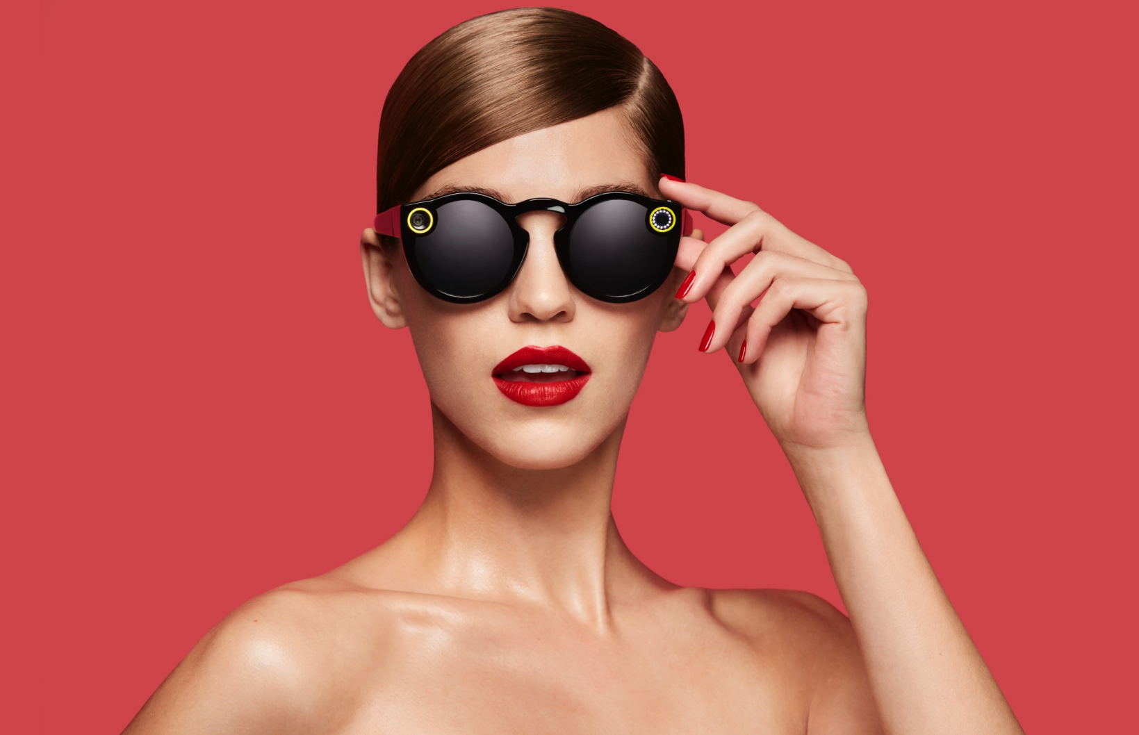 Snapchat spectacles.
