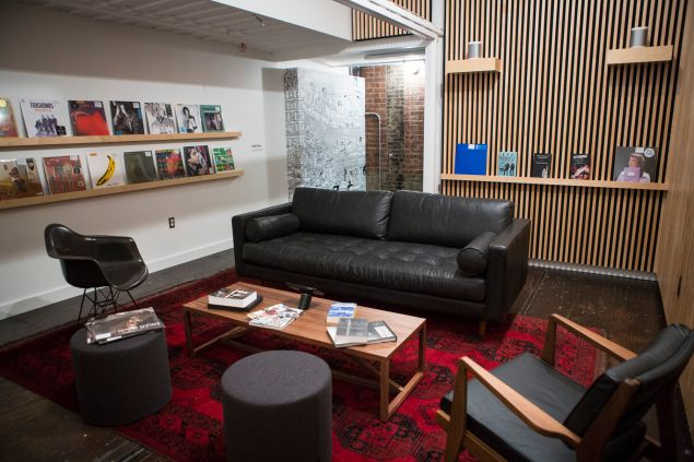 The Sonos listening room at Brooklyn's Rough Trade
