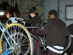 Sopo Bicycle Co-op, in Atlanta.