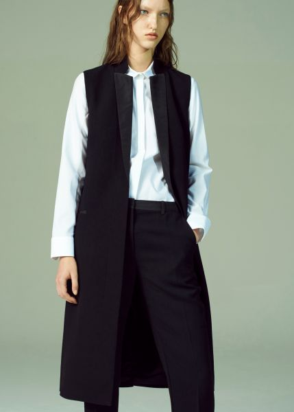 Shirt, vest and pant, all by Lee