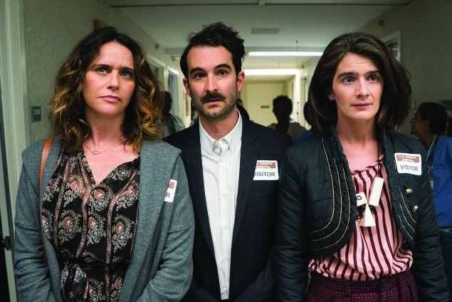 Sarah (Amy Landecker), Josh (Jay Duplass) and Ali (Gaby Hoffmann) in Transparent.
