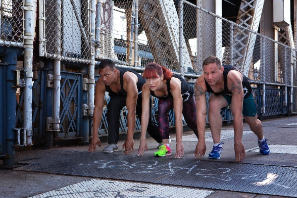 Conbody instructors test their stamina.