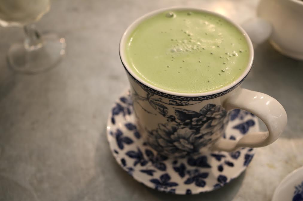 Maman's Panatea Matcha Latte.
