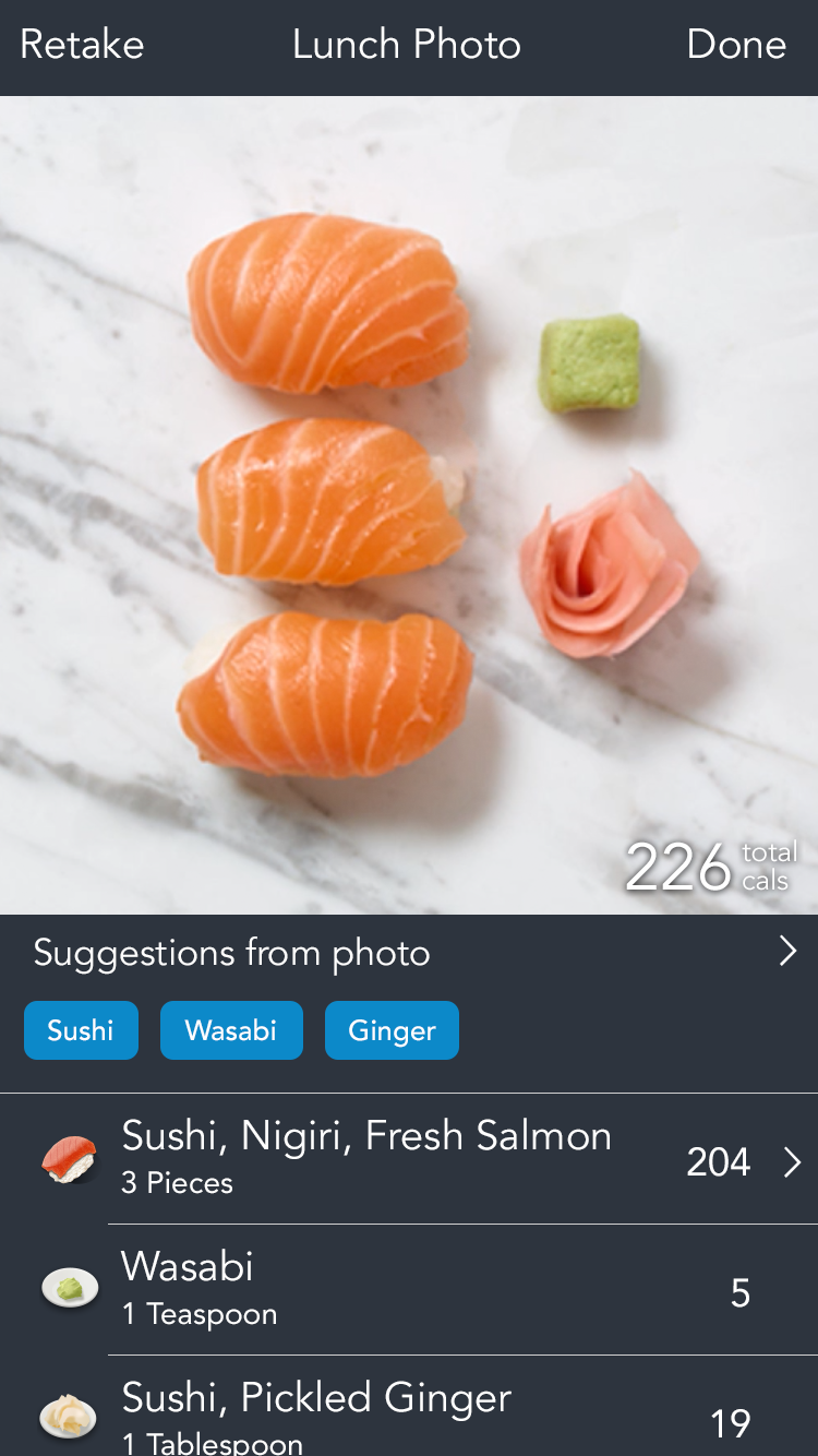 Track what you eat and gain Instagram followers at the same time.