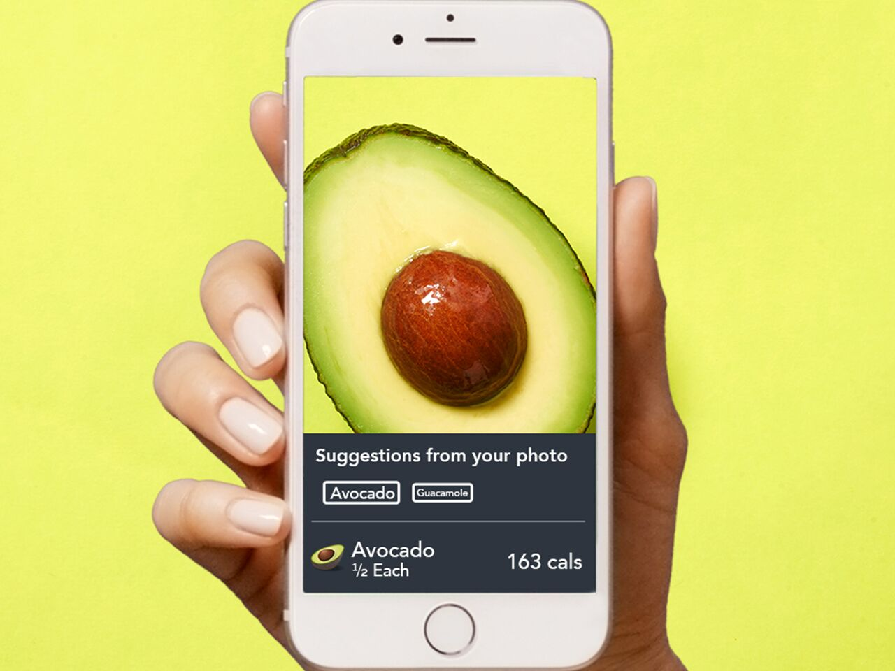 Lose It tracks your snacks with a snap.