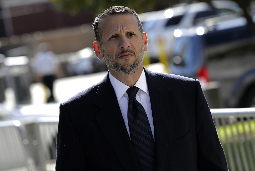 David Wildstein, former director of interstate capital projects for the Port Authority of New York and New Jersey, enters federal court in Newark, New Jersey, U.S., on Friday, Sept. 23, 2016.