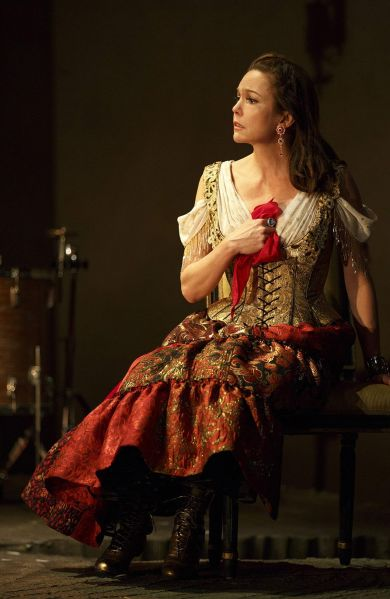 Diane Lane in The Cherry Orchard at the American Airlines Theatre.