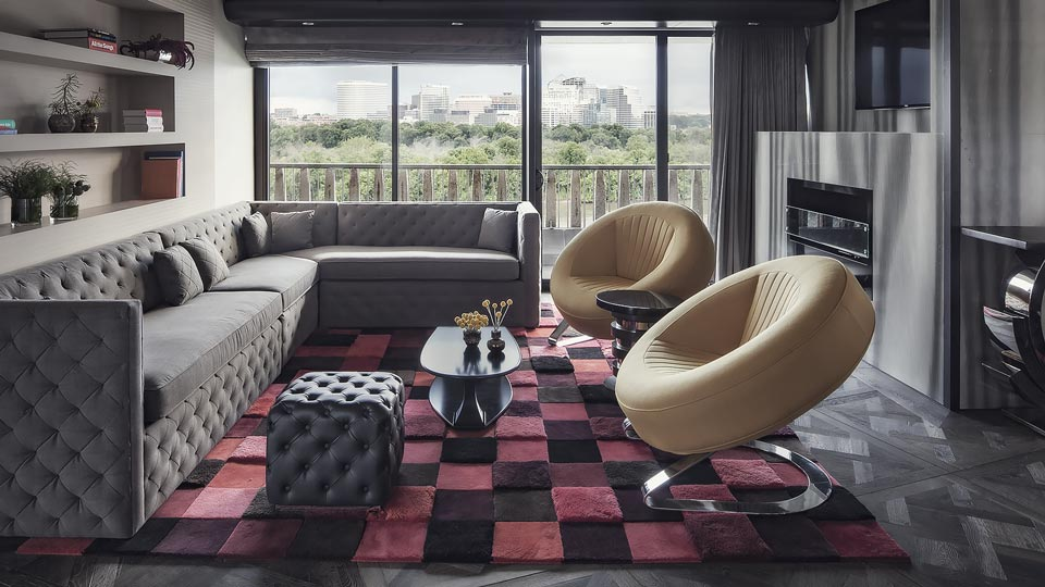 The Watergate Hotel Presidential Suite