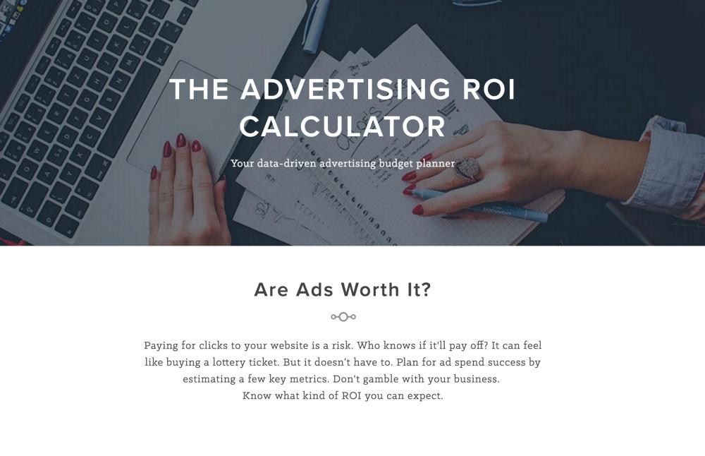Ads ROI Calculator