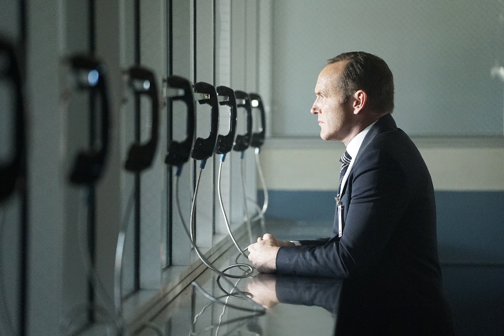 Clark Gregg as Agent Phil Coulson.