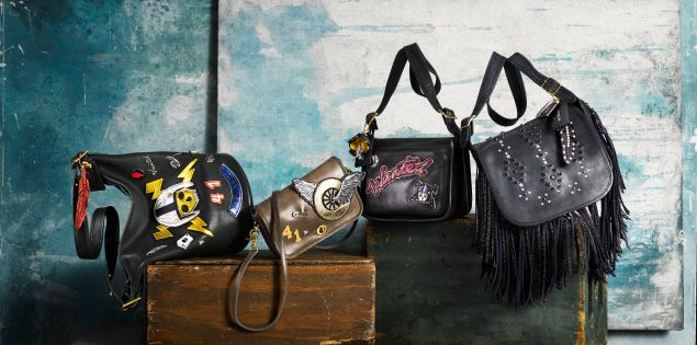 A few of the Coach bags on auction.