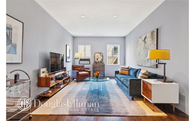 Celebrity stylist Sam Spector just listed his Chelsea co-op.