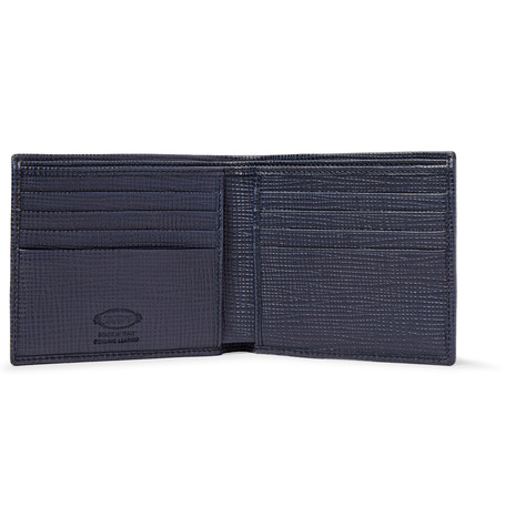 Tod's Cross-Grain Leather Billfold Wallet, $325, Mrporter.com.