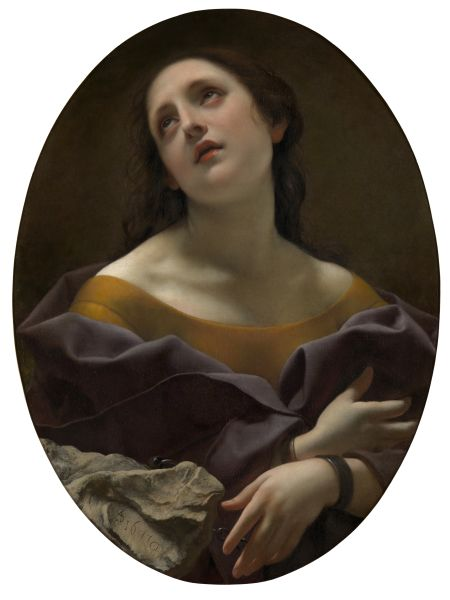 The Allegory of Patience, by Carlo Dolci, offered by CARLO ORSI - TRINITY FINE ART at TEFAF New York.
