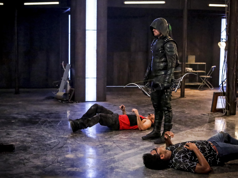 Arrow season 5 in a nutshell.