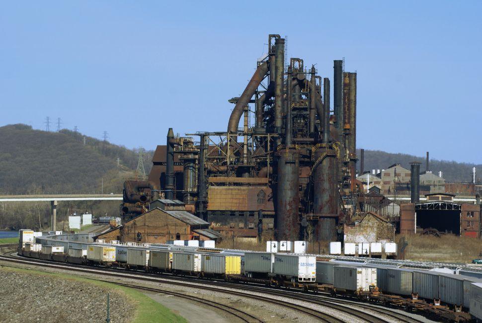The defunct Bethlehem Steel plant.