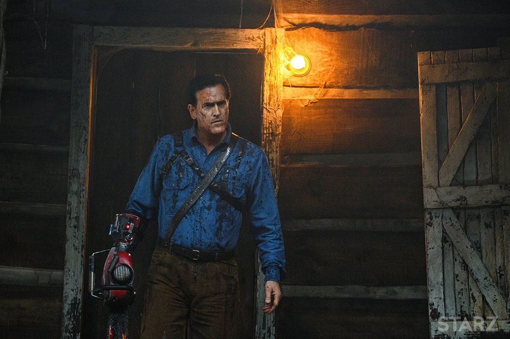 Bruce Campbell in Ash vs. Evil Dead.