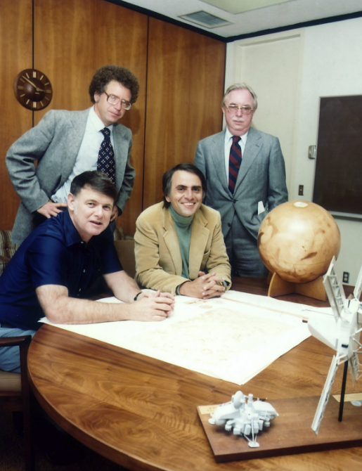 Founders of The Planetary Society, 1980