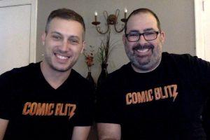 Comics Blitz co-founders, Jordan Plosky and Greg Weiss.