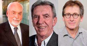Nobel laureates Stoddart, Sauvage and Feringa.