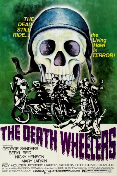 Psychomania aka The Death Wheelers, Don Sharp, 1973.
