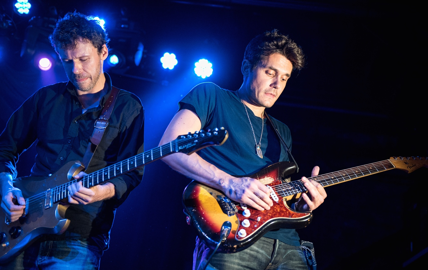 Scott Metzger of Joe Russo's Almost Dead rips it up with special guest John Mayer at Brooklyn Bowl on night two of his band's sold-out residency.