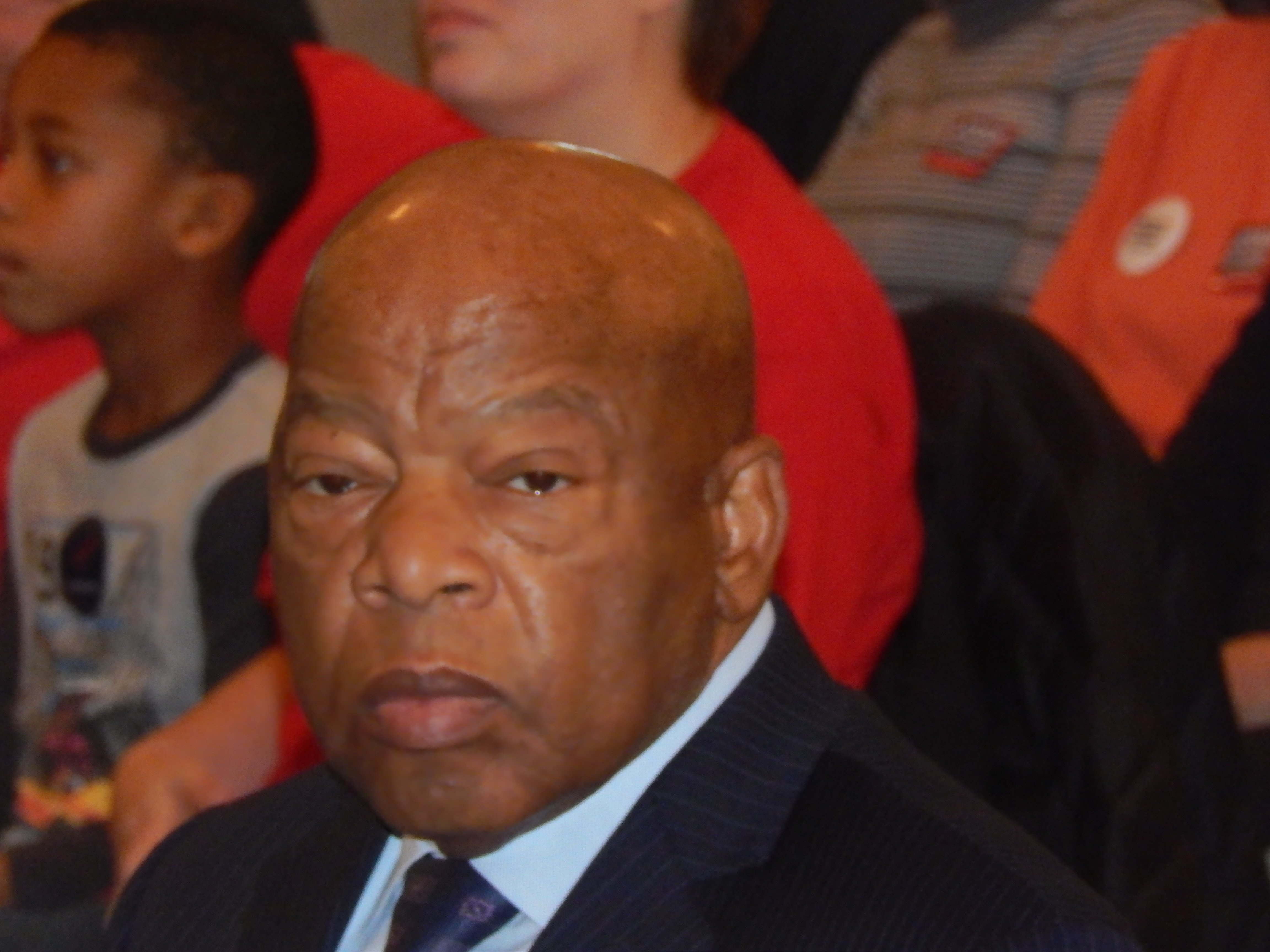 Living Legend John Lewis shows how it's done in New Jersey.