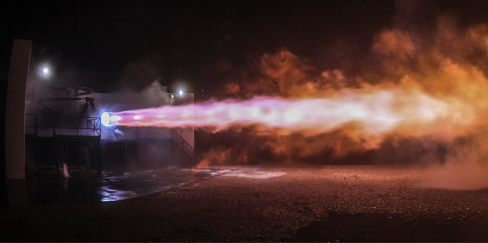 SpaceX successfully test-firing the Interplanetary Transport System Raptor engine