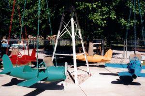 An amusement park ride in Southeast Kansas.